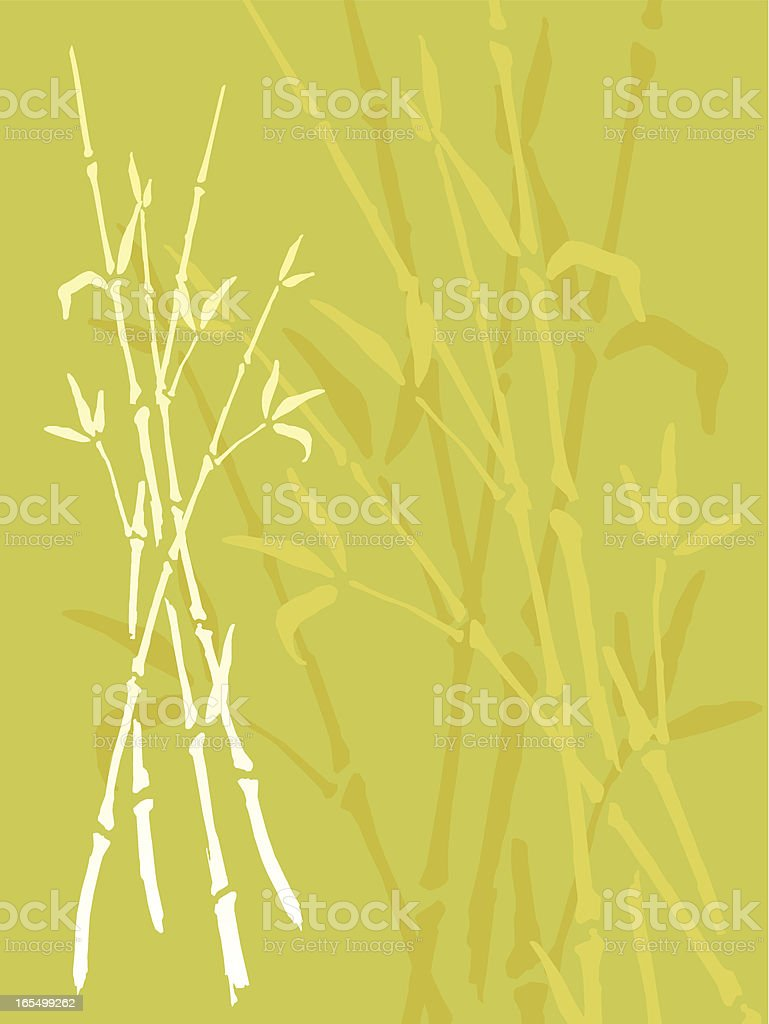 bambu royalty-free stock vector art