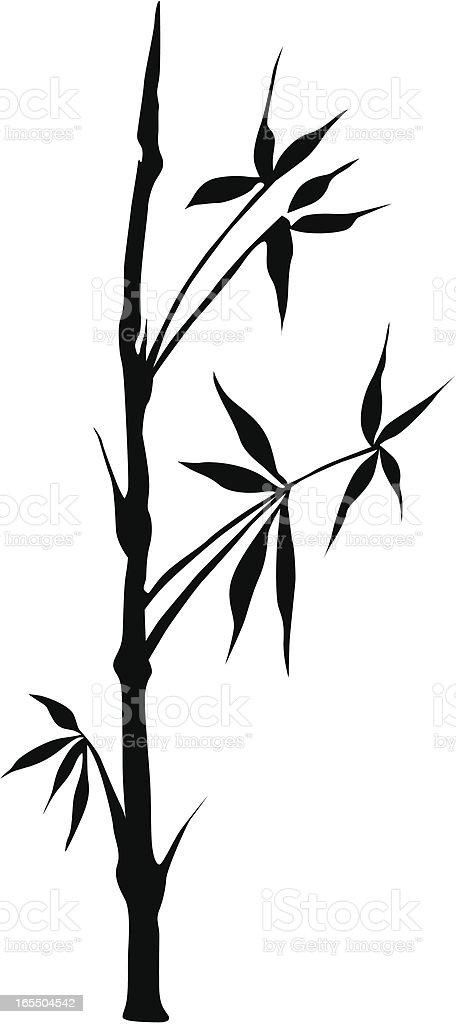 Bamboo royalty-free stock vector art