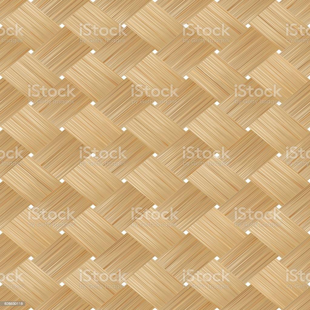 Bamboo wood vector art illustration