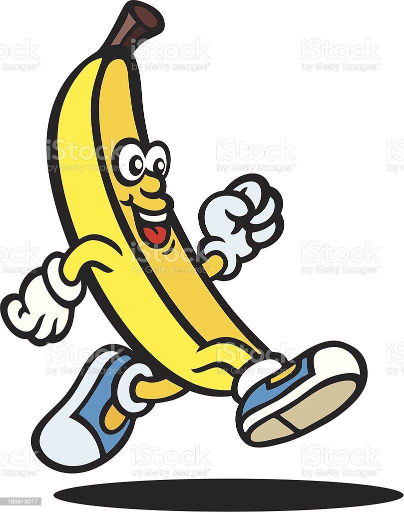 Banana Guy royalty-free stock vector art