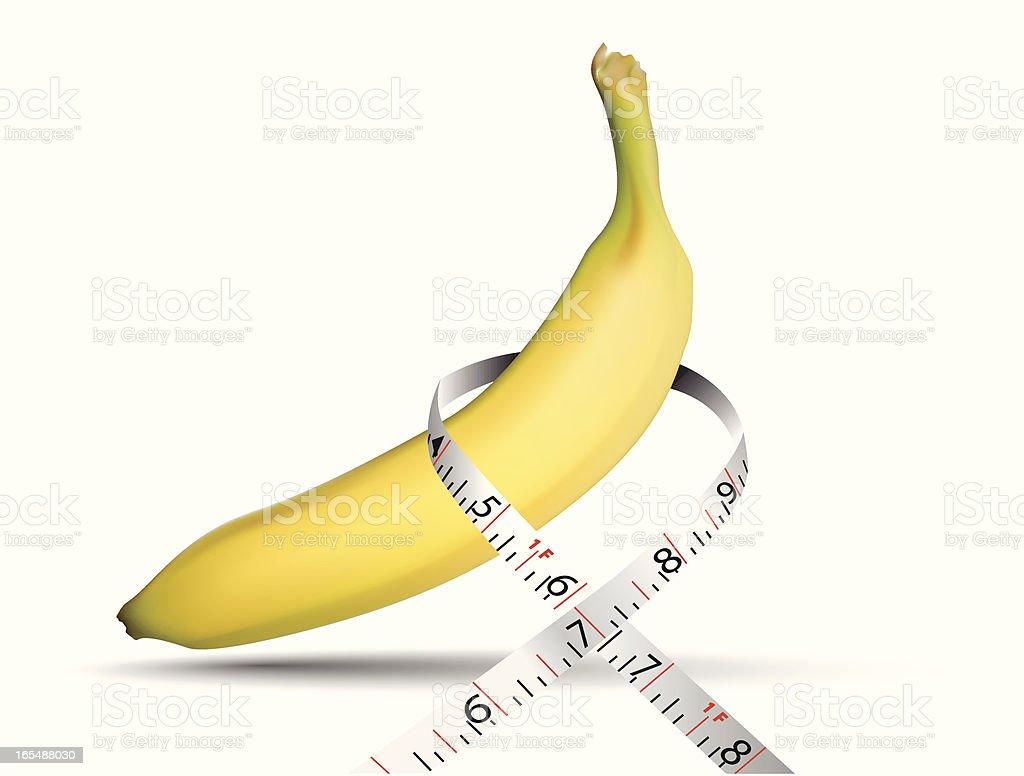 Banana - VECTOR royalty-free stock vector art