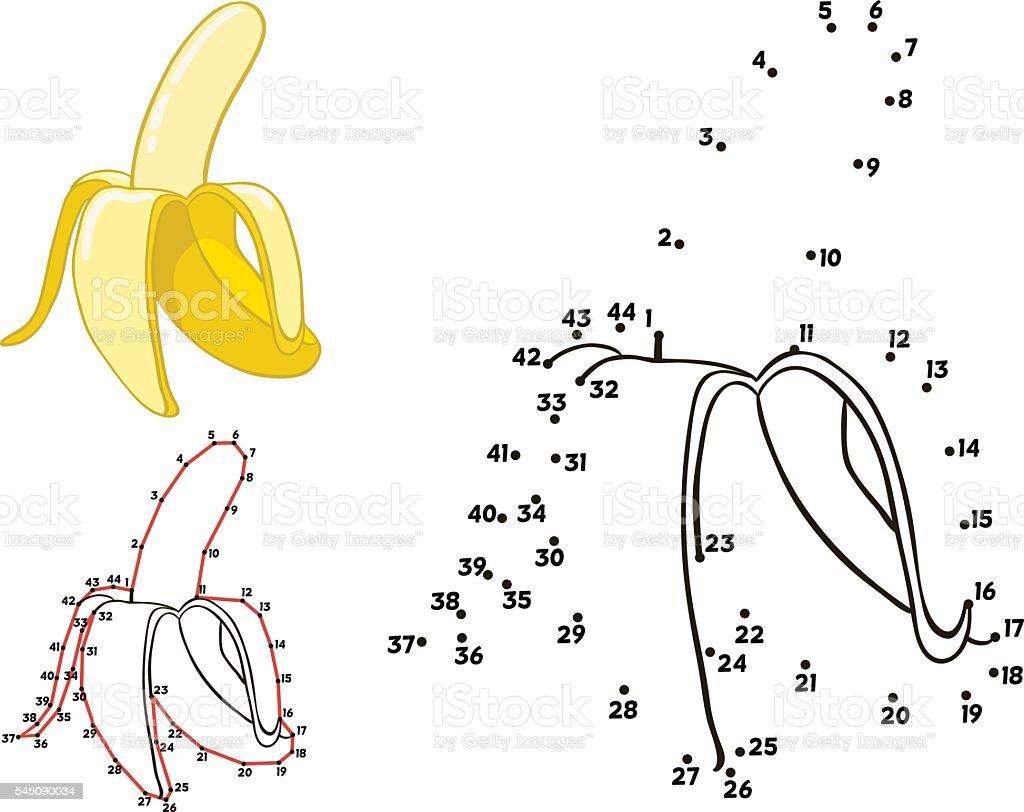 Banana vector vector art illustration