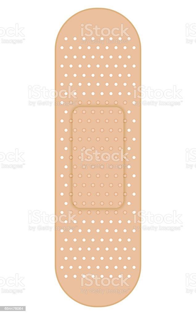 Band aid vector art illustration