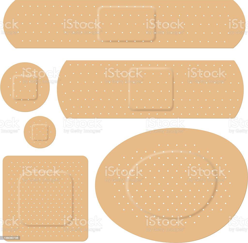 bandage royalty-free stock vector art
