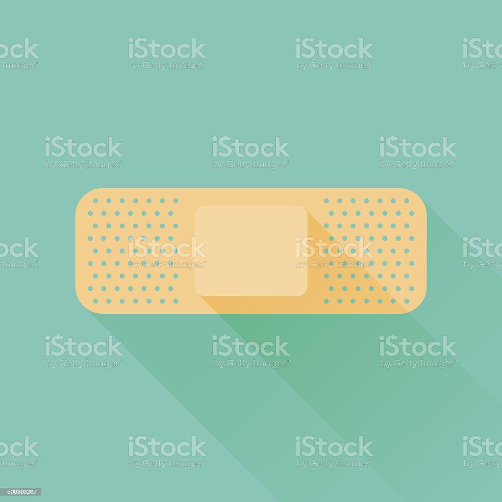 Bandage vector art illustration