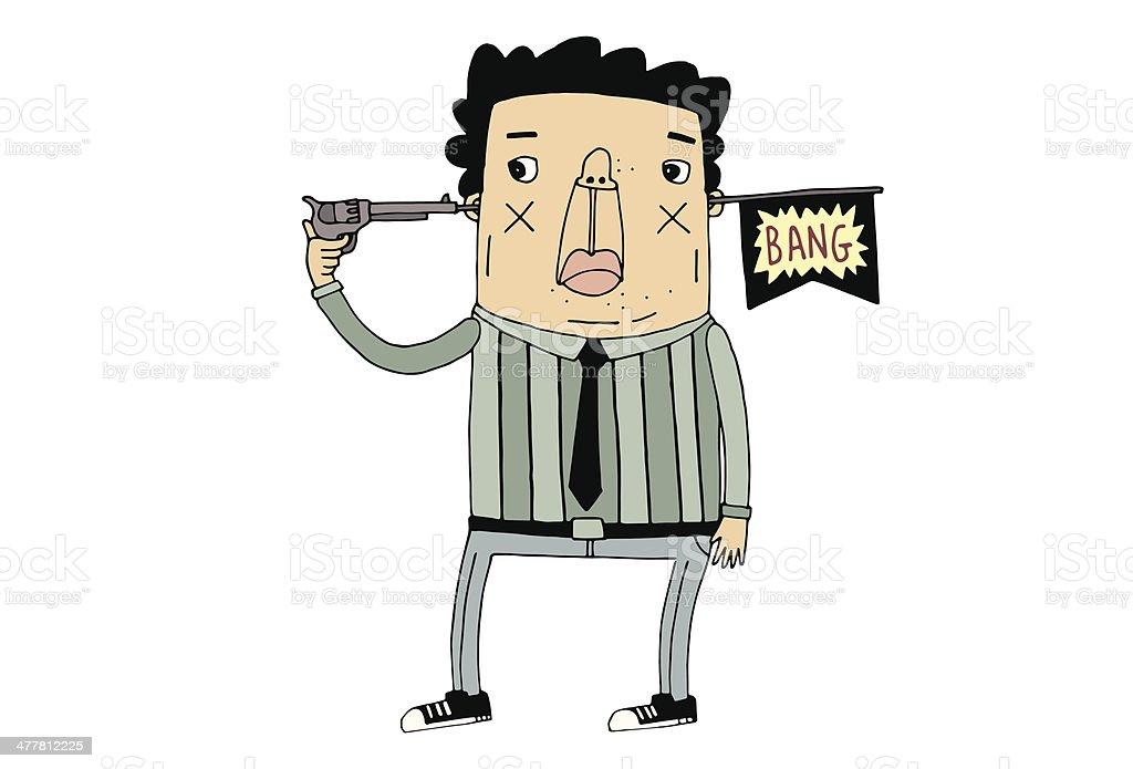 Bang! royalty-free stock vector art