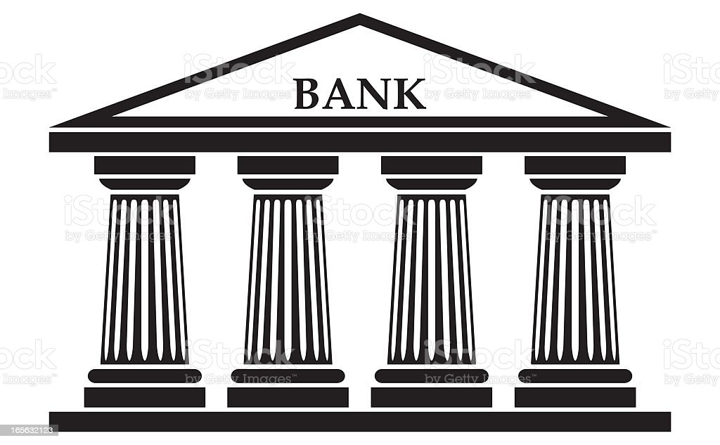 Bank royalty-free stock vector art