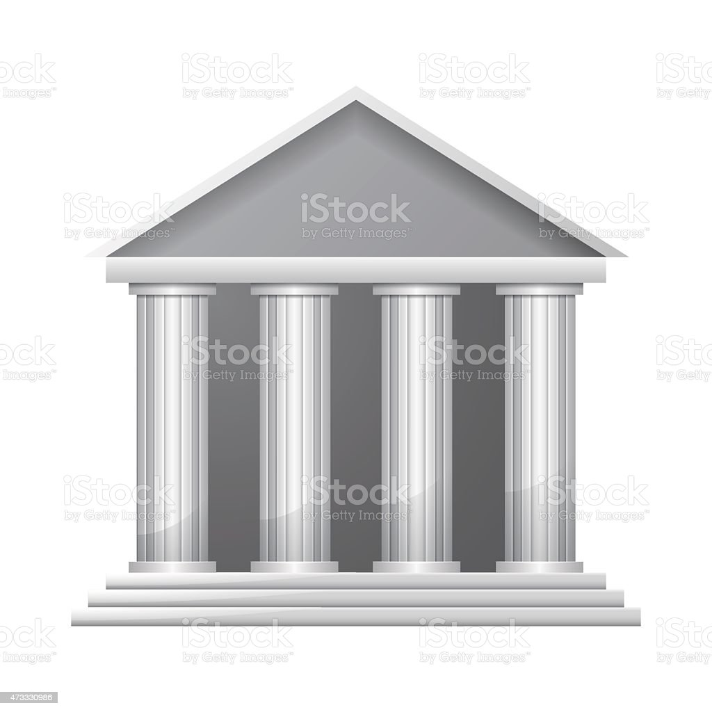 Bank vector art illustration