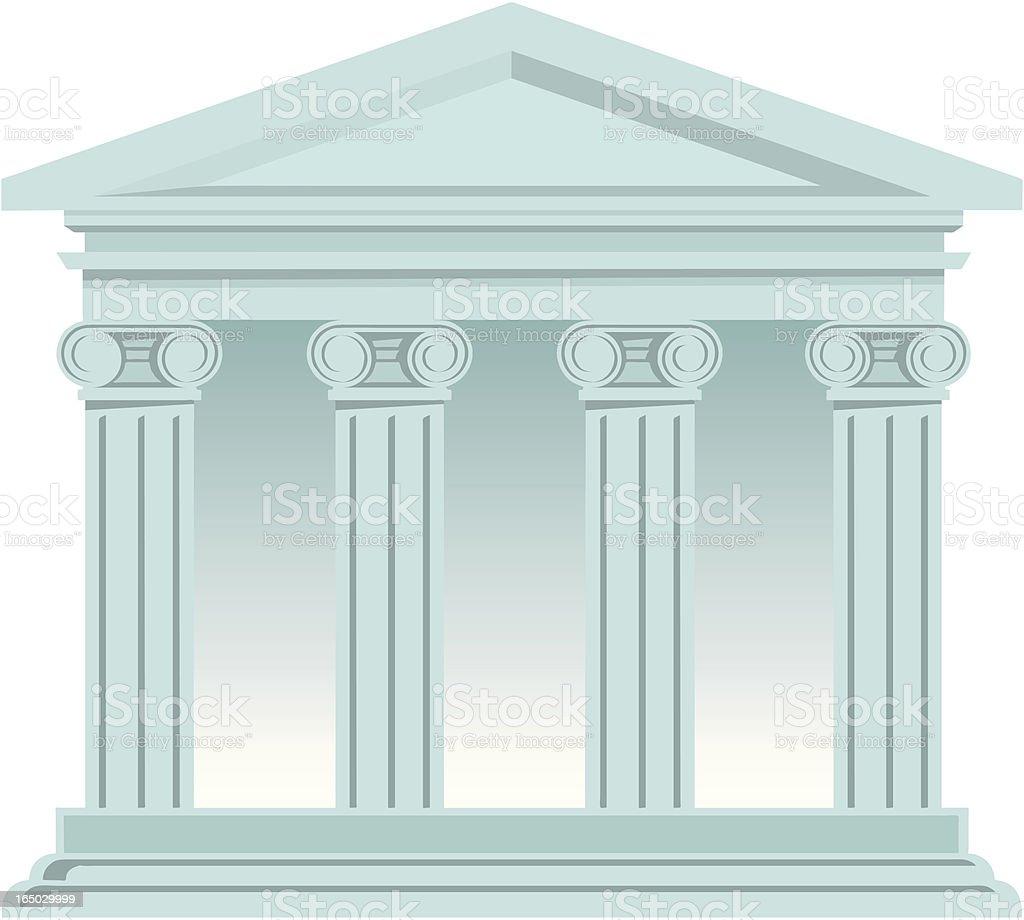 Bank - vector royalty-free stock vector art