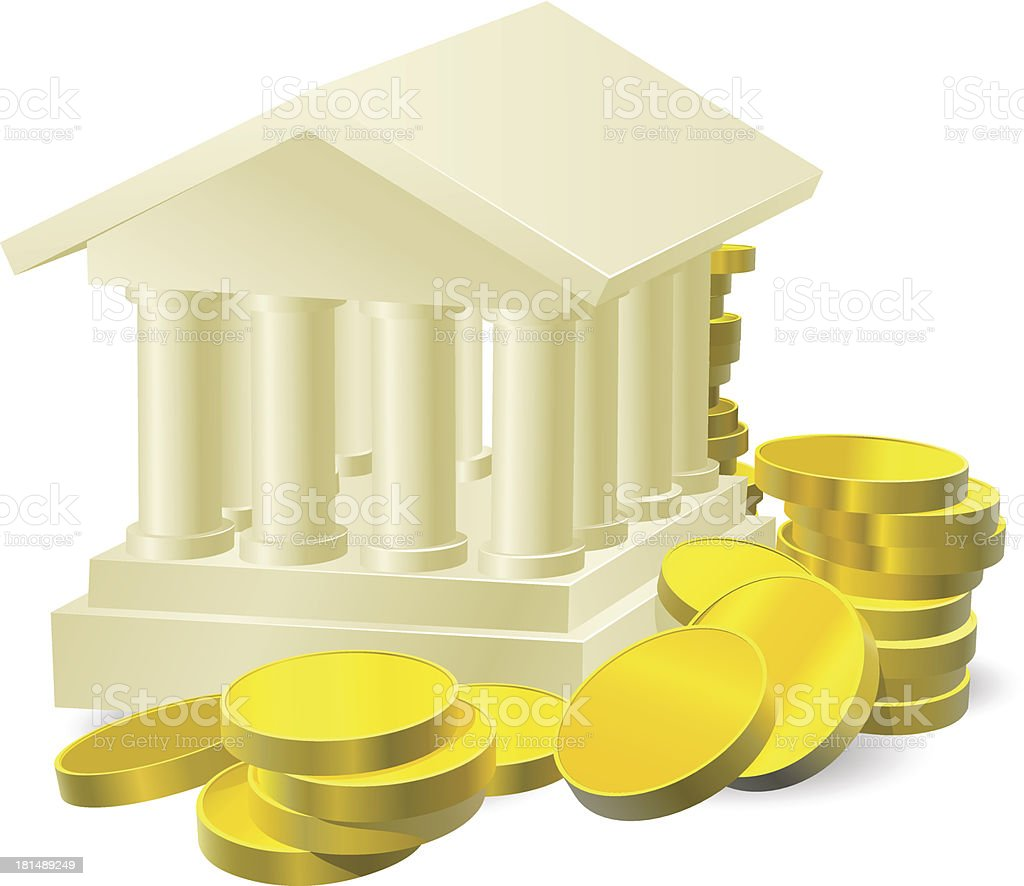 Banking concept royalty-free stock vector art