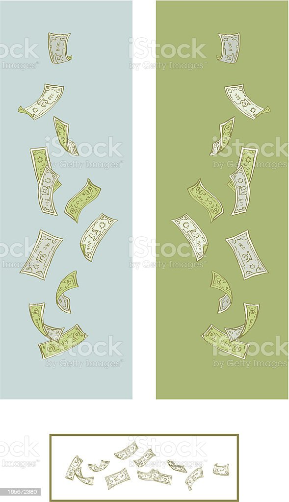 Banknote Banner. royalty-free stock vector art