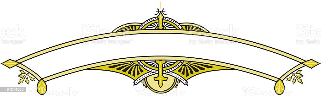 Banner Emblem royalty-free stock vector art