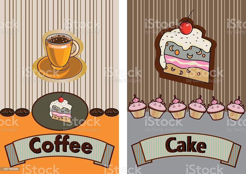 banner for restaurant and cafe royalty-free stock vector art