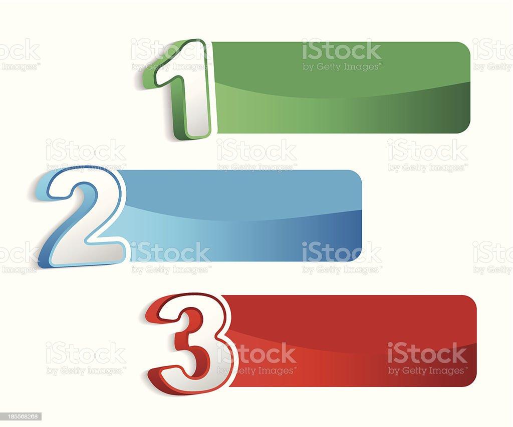 banner set royalty-free stock vector art