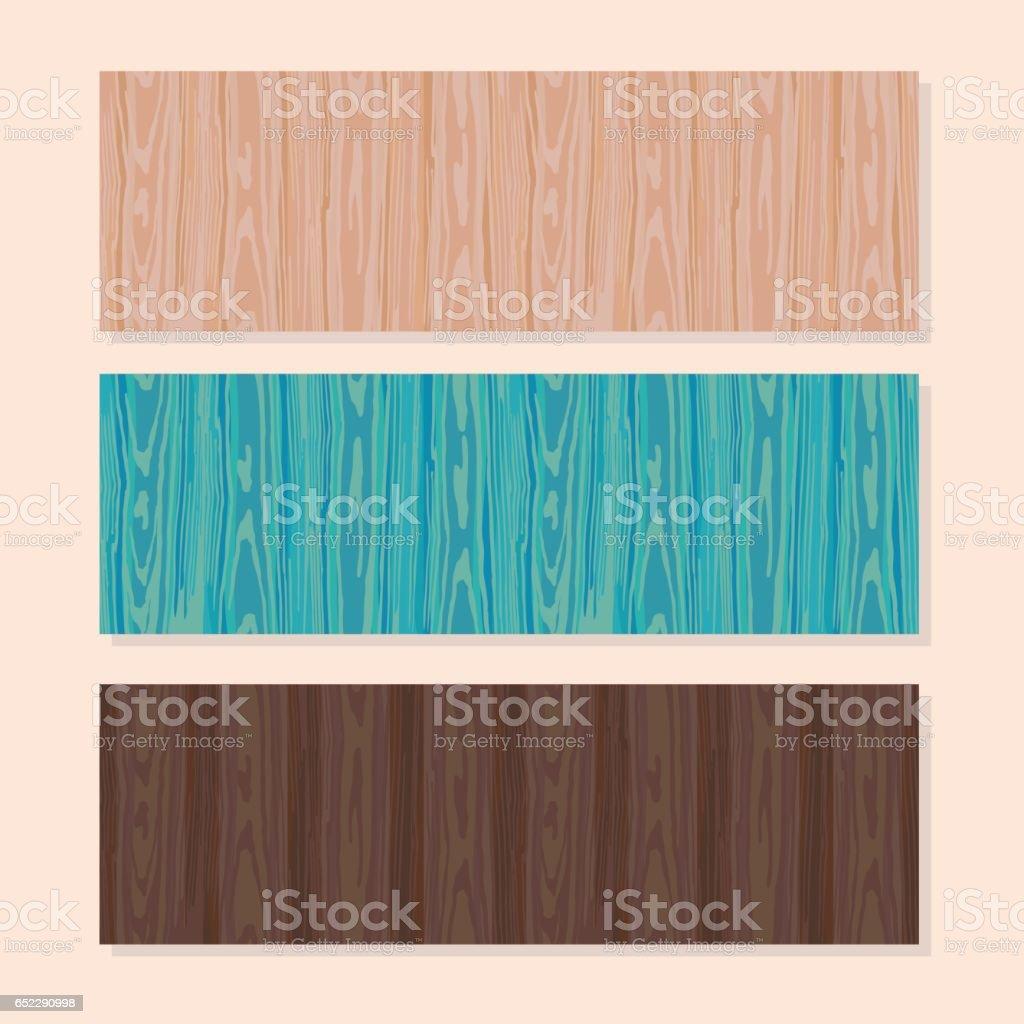 banner texture color tree vector art illustration