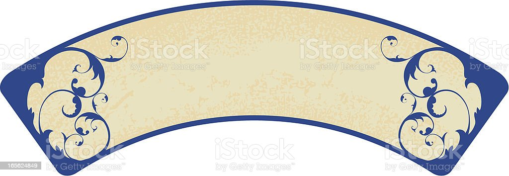 Banner royalty-free stock vector art
