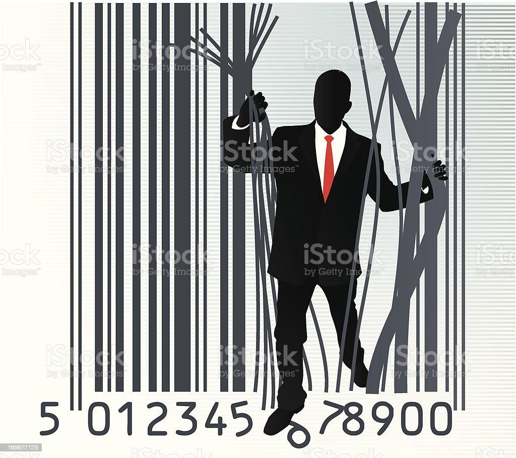 Bar Code royalty-free stock vector art