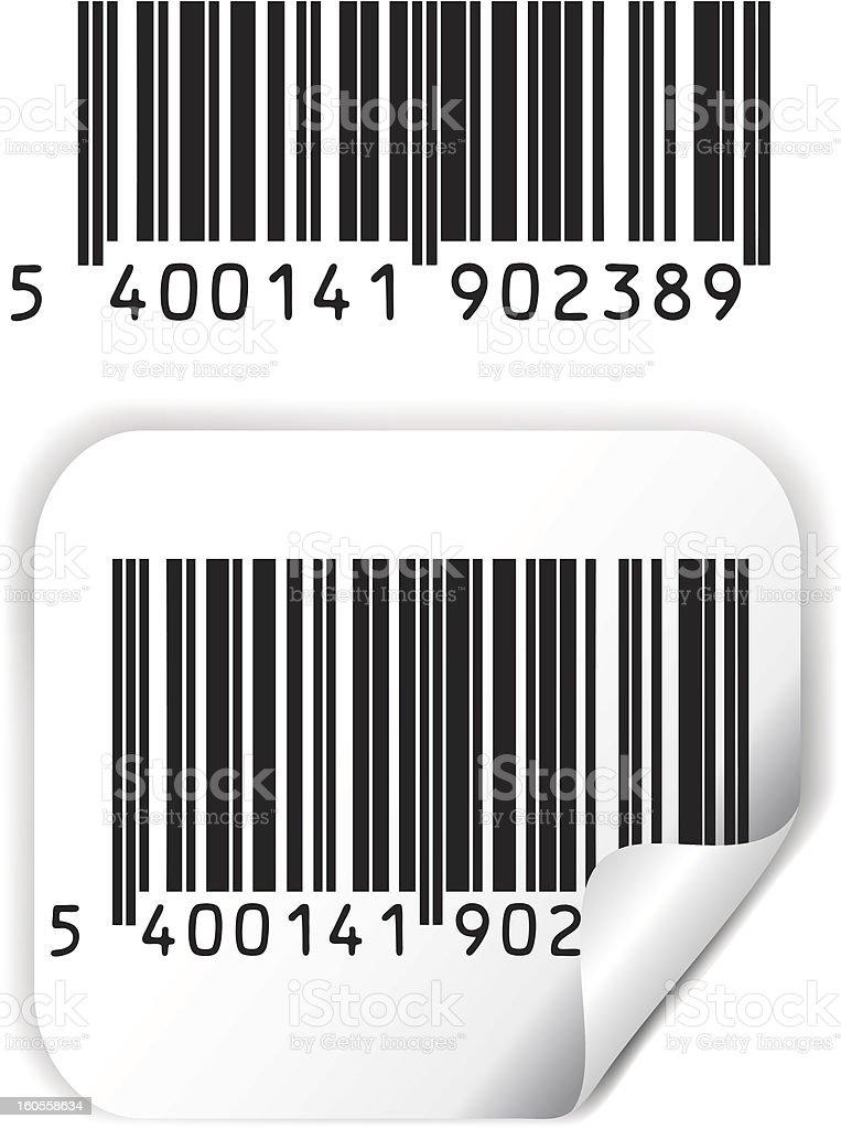 Bar code vector vector art illustration