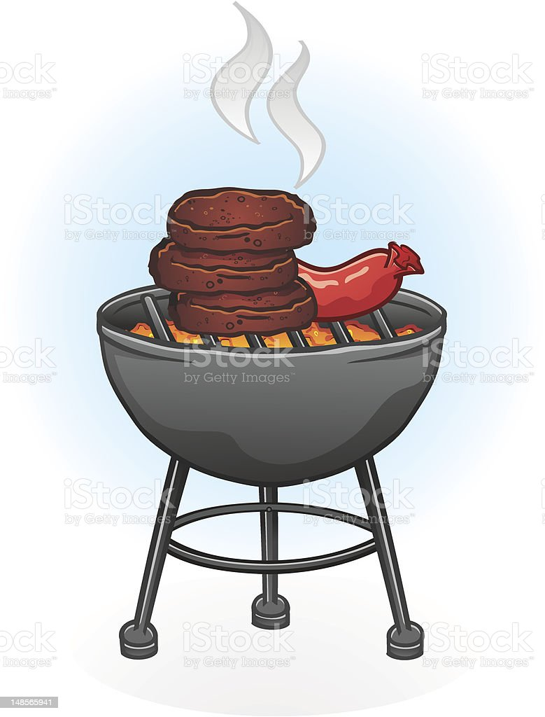 Barbecue Grill royalty-free stock vector art