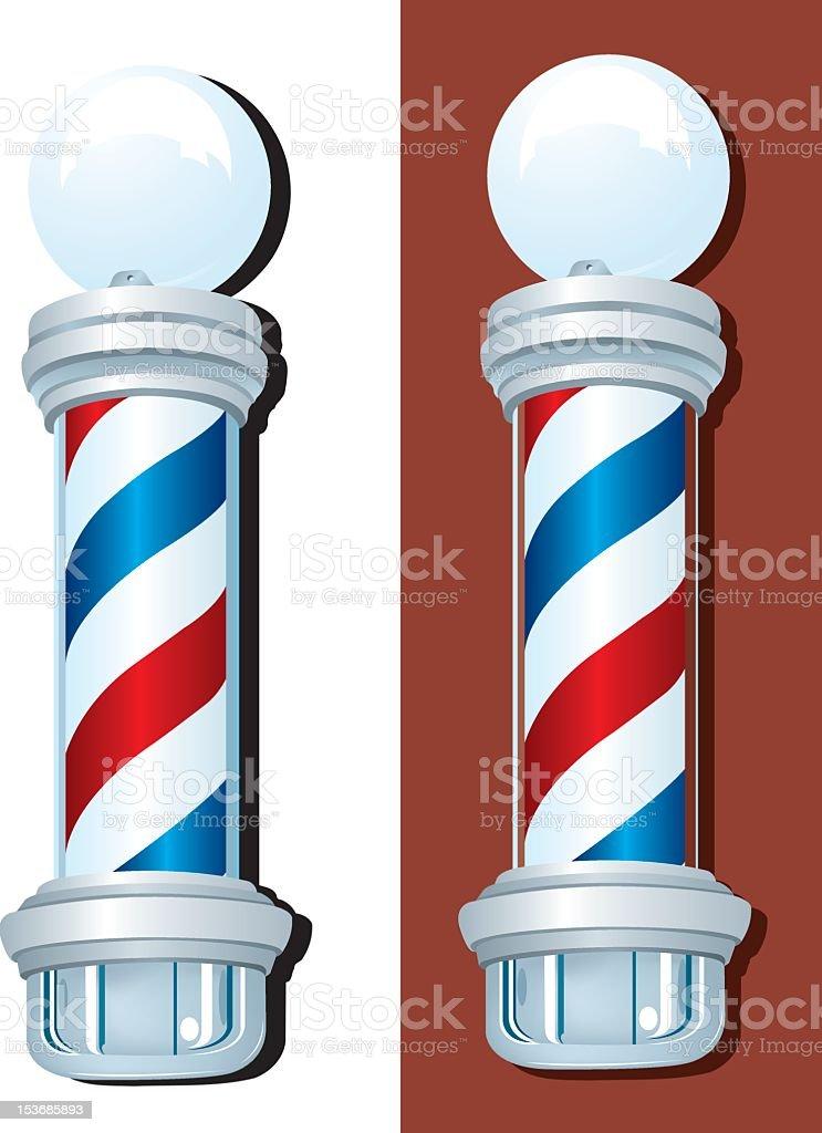 Barber Shop Sign royalty-free stock vector art
