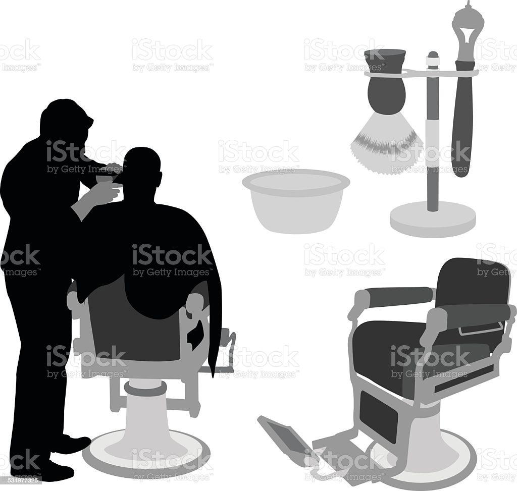Barber chair vector - Barberchair Royalty Free Stock Vector Art