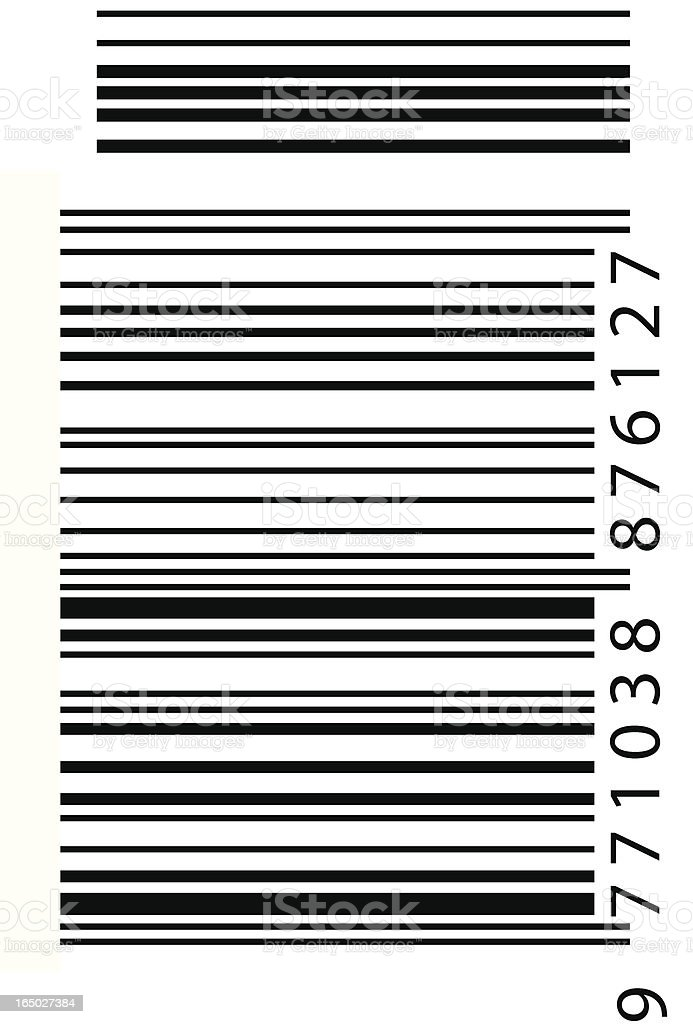Barcode - EPS/VECTOR vector art illustration