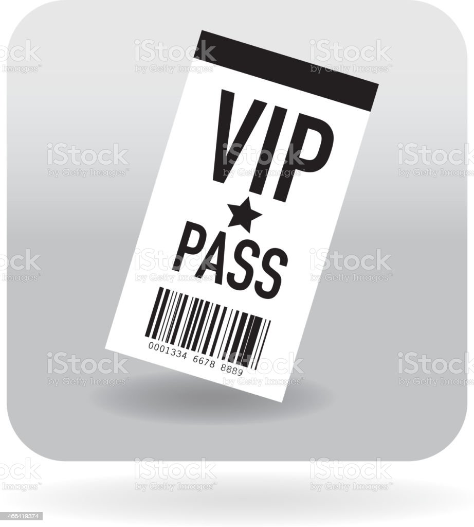 Barcode meet and greet concert icon vector art illustration