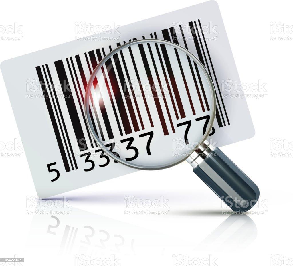 barcode sticker royalty-free stock vector art