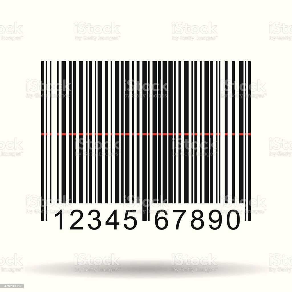 Barcode, Vector Illustration vector art illustration
