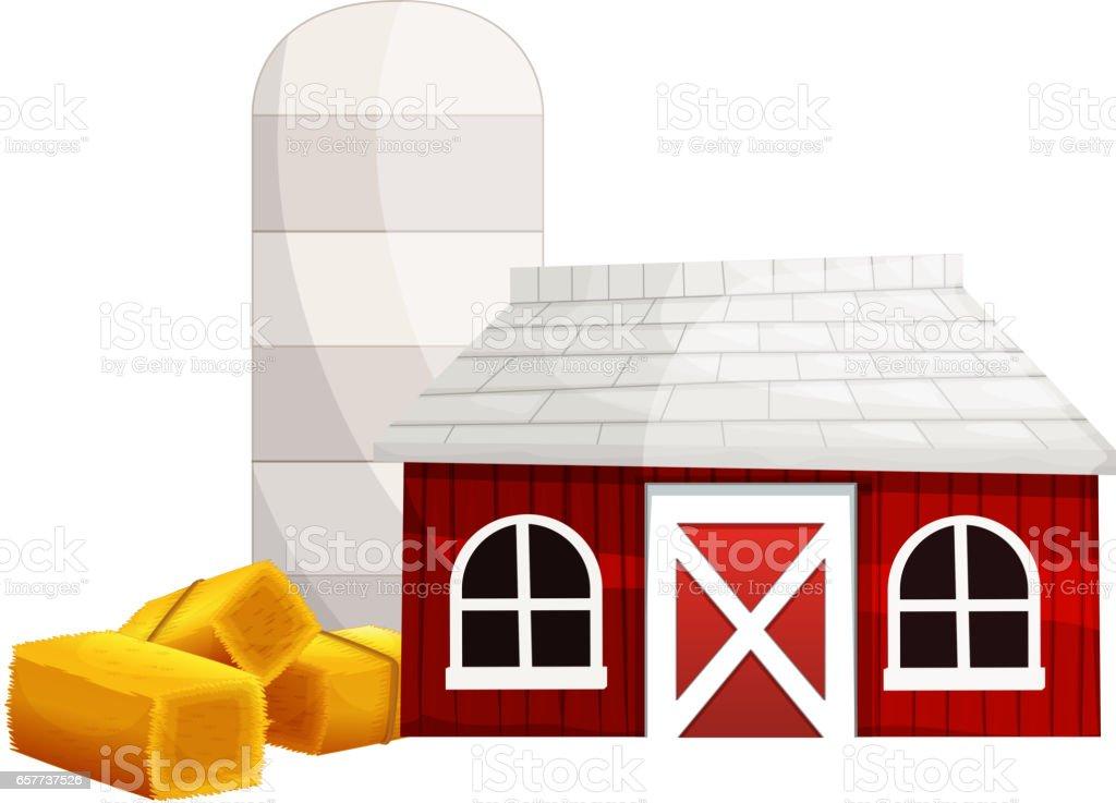 Red Barn Doors Clip Art silhouette of the red barn door clip art, vector images