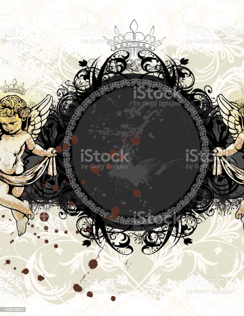 Baroque Banner royalty-free stock vector art
