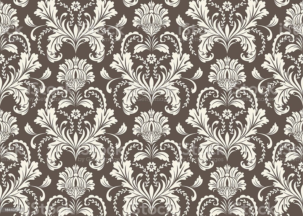 Baroque design royalty-free stock vector art