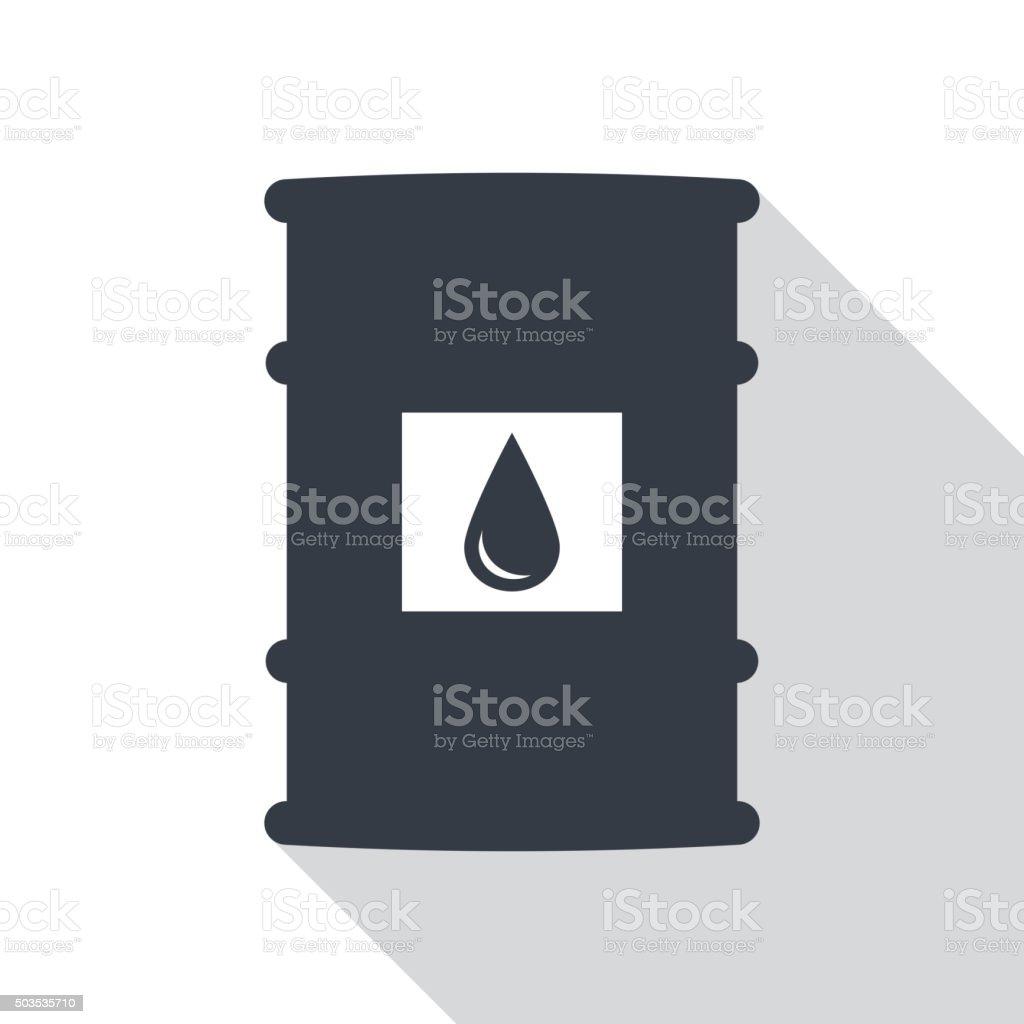 Barrel of oil vector. vector art illustration