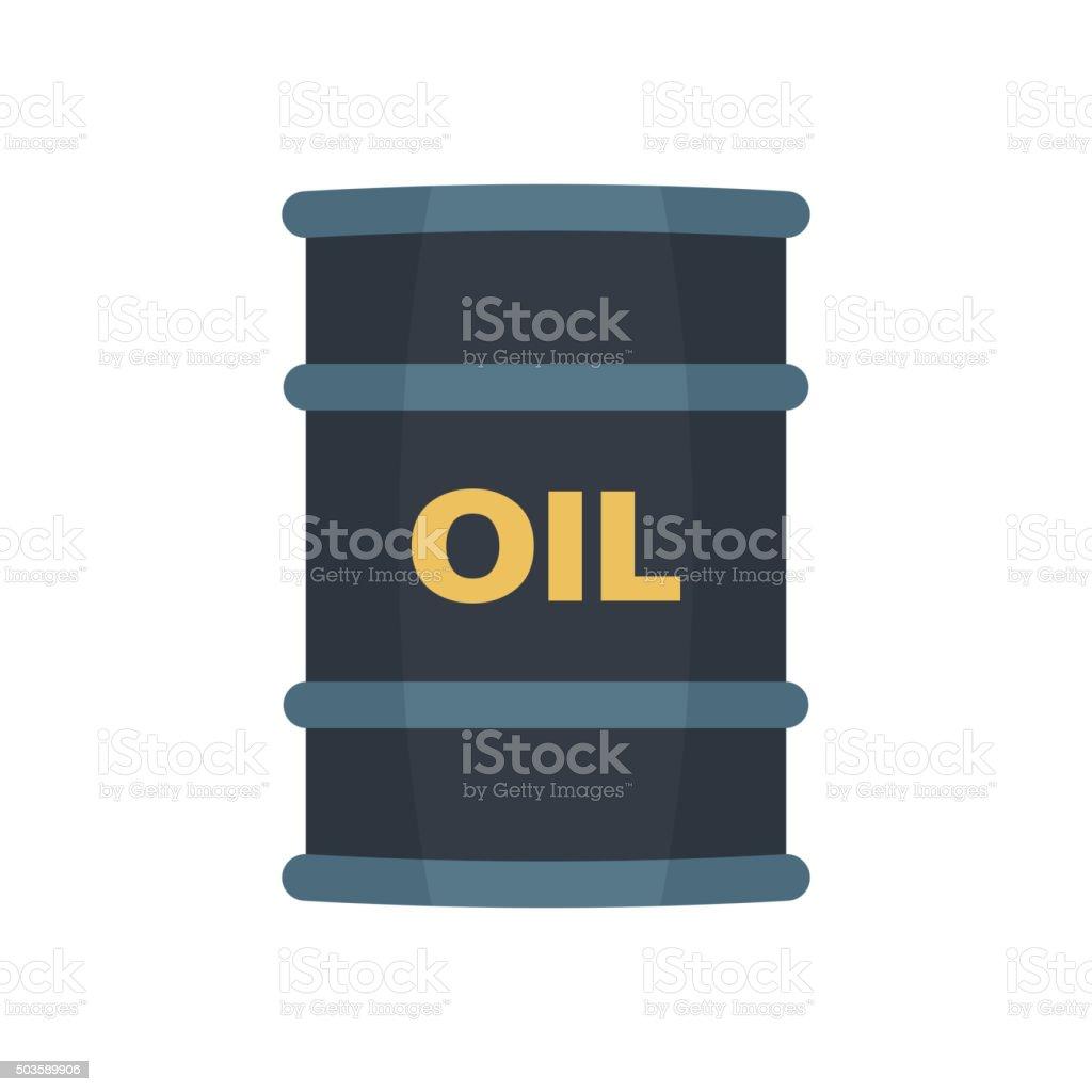 Barrel oil vector. vector art illustration