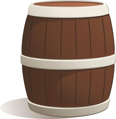 Whiskey Barrel Clip Art, Vector Images & Illustrations ...