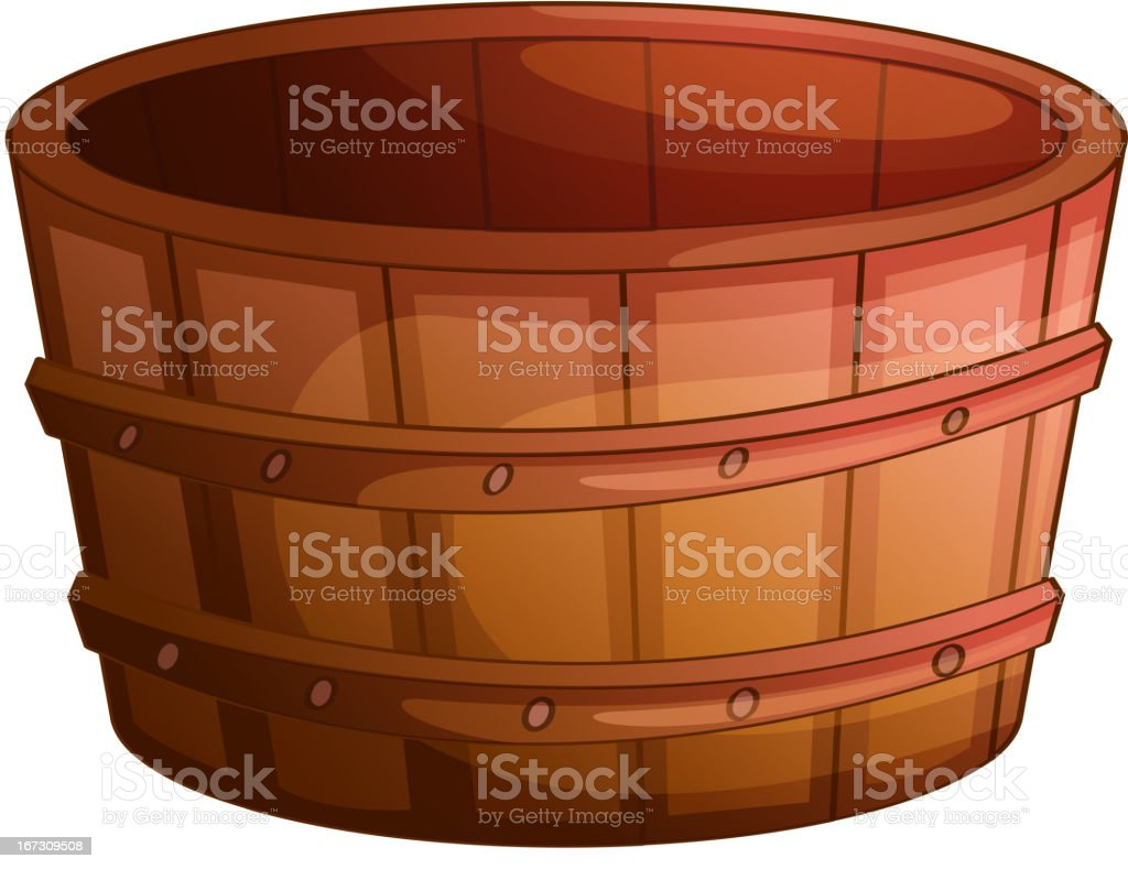Barrel royalty-free stock vector art