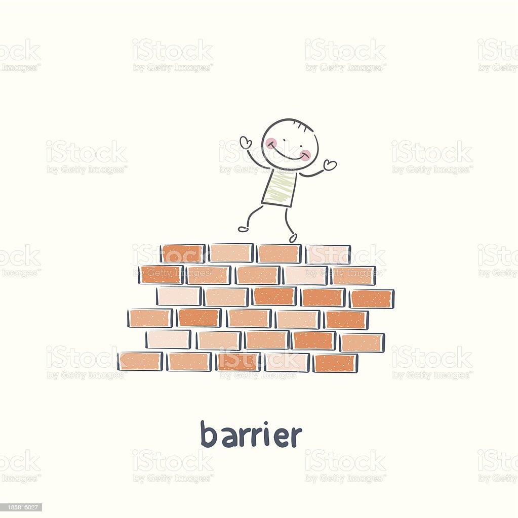 barrier royalty-free stock vector art