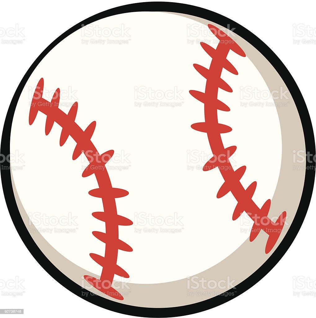 Baseball Ball royalty-free stock vector art