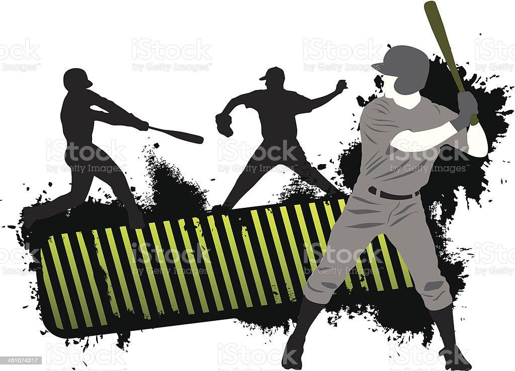 Baseball Banner royalty-free stock vector art