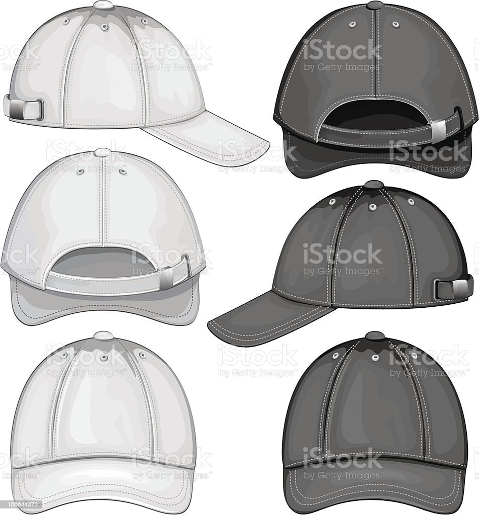 Baseball Cap royalty-free stock vector art