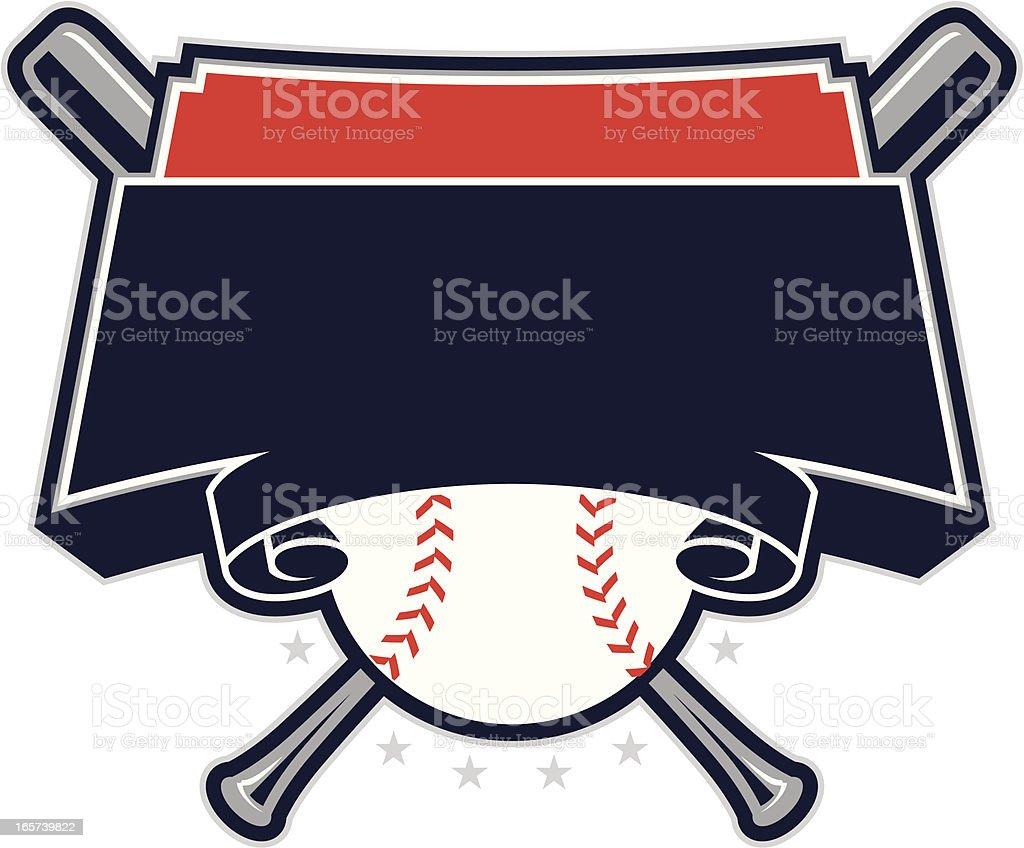 Baseball Design royalty-free stock vector art