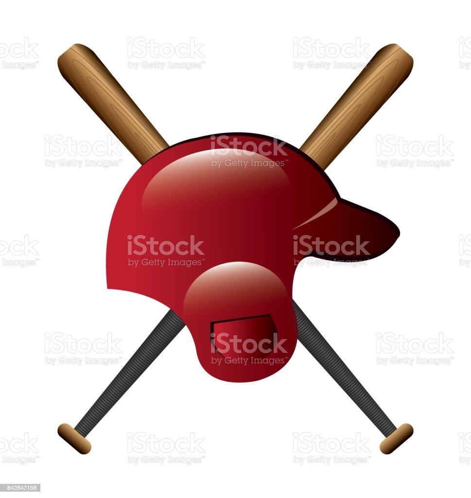 Baseball design vector art illustration