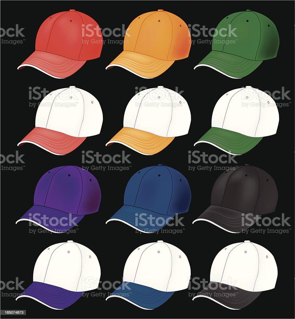 baseball hat royalty-free stock vector art