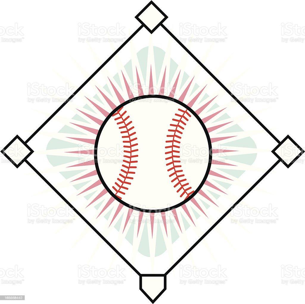 Baseball Icon royalty-free stock vector art