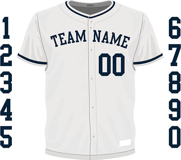 Baseball Uniform Clip Art