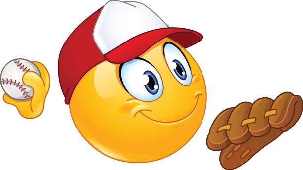 Cartoon Of Baseball Gloves Clip Art, Vector Images & Illustrations ...