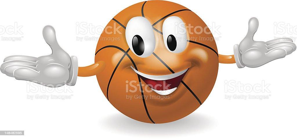 Basket Ball Man royalty-free stock vector art