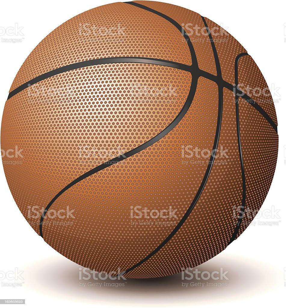 Basket Ball royalty-free stock vector art