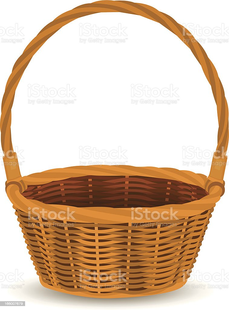 basket royalty-free stock vector art
