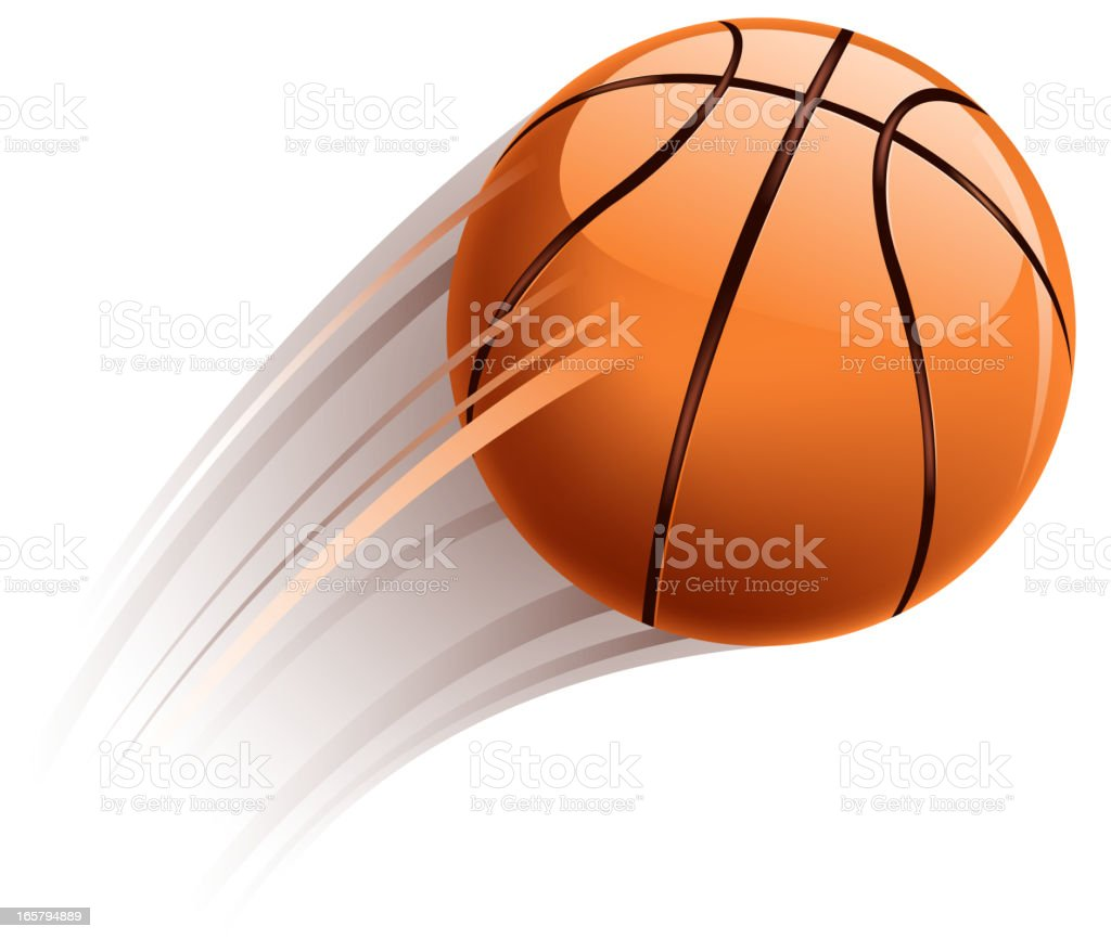 basketball action royalty-free stock vector art